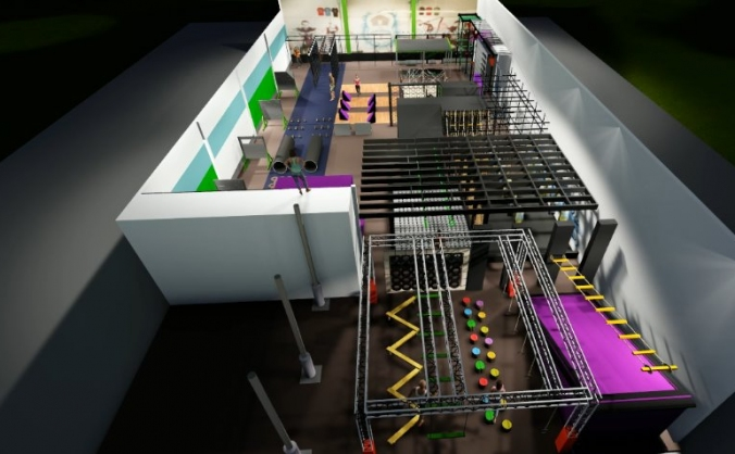 The Obstacle House-Wales's 1st Indoor Fitness Park