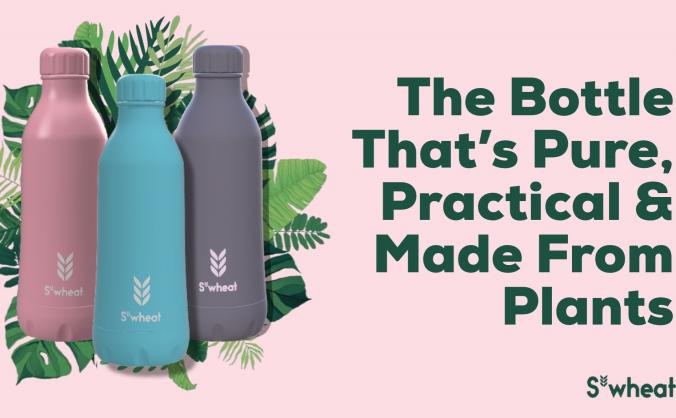 S'wheat | The Bottle That's Made From Plants