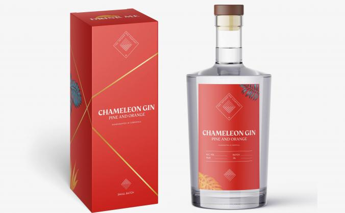Chameleon Gin: Customisable gin, your way.