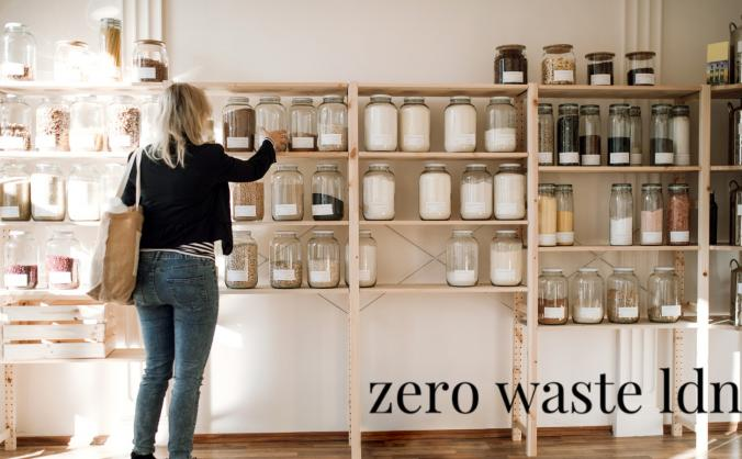A Zero Waste Plastic Free shop in Bethnal Green