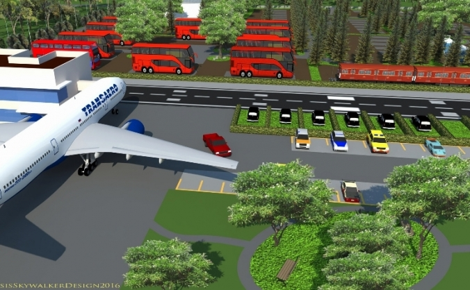 Boeing 767- Transport Themed Glamping Village