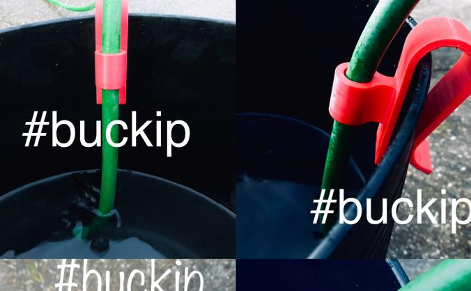 Buckip; saving you water, time & money