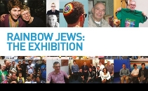 Rainbow Jews exhibition in Leicester