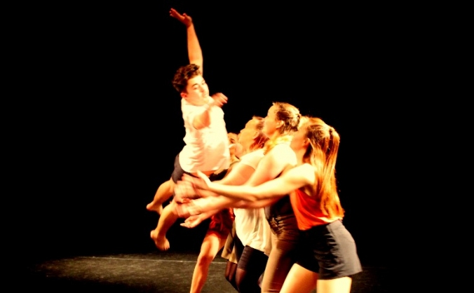 With Company's production of new work People