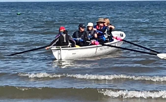 Boat for Gower Sea Rowing Club