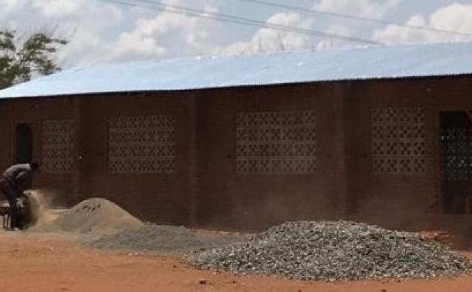 Community building at Gulumu - transform a region