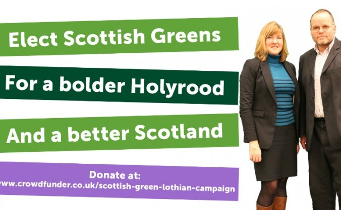 Final Push: Elect Scottish Greens in Lothian