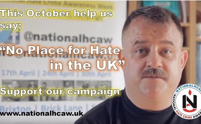 National Hate Crime Awareness Week #NationalHCAW