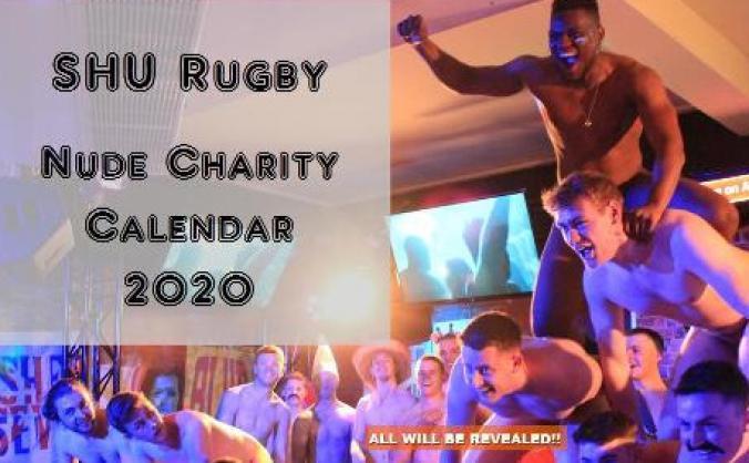 SHU Rugby 2020 Nude Charity Calendar & Film