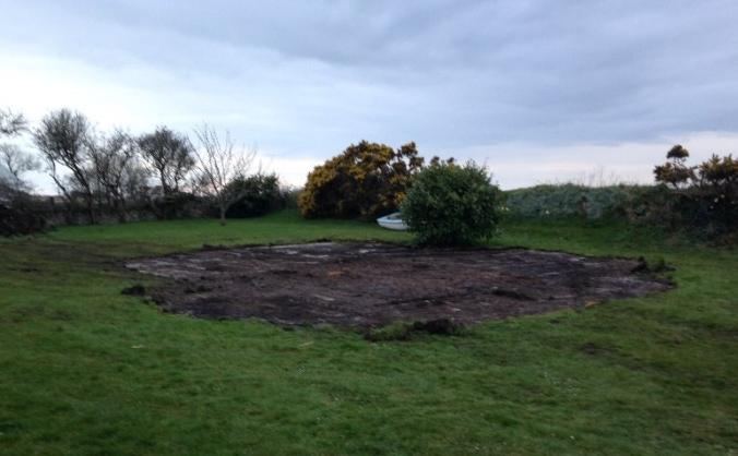 Gardd Ysgol Pencarnisiog School Garden