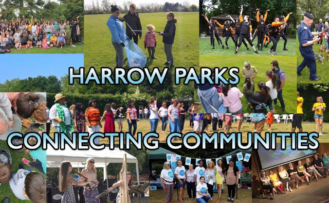 Harrow Parks is Connecting Communities!