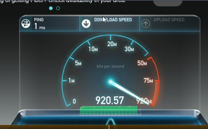 Gigabit Internet FTTH Service
