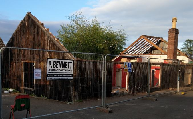 Alphington Community Theatre Rebuilding Project