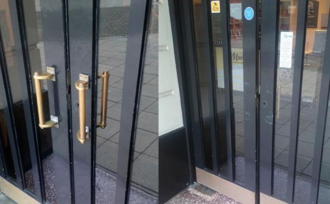 Help replace our stolen door handles