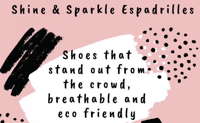 Shine and Sparkle Designs - Eco Espadrilles