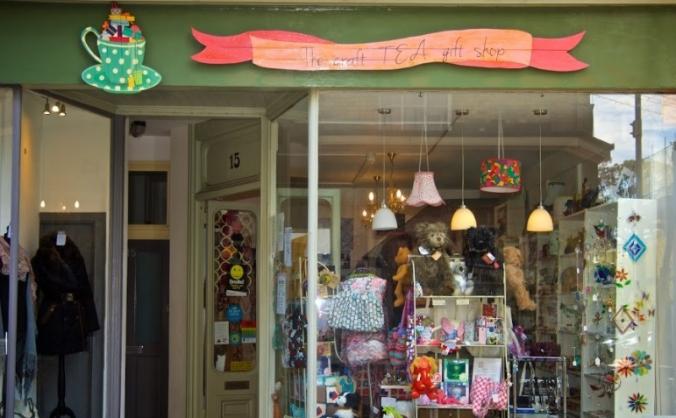 Help us put the TEA inThe Craft TEA Gift Shop