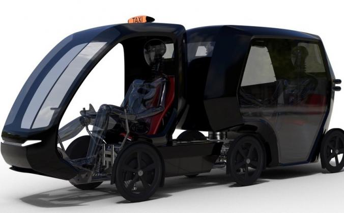 Quicab e-assisted cycle taxis for London!