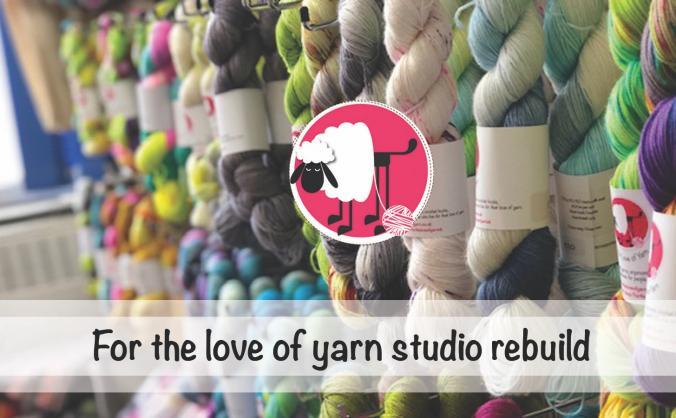 For the love of yarn studio rebuild