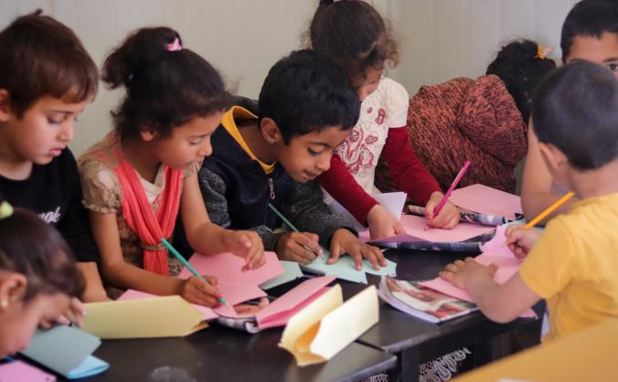 Help us fight illiteracy in Zaatari Village!