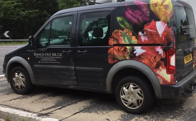 Help fund a new van for Branch-out MK CIC