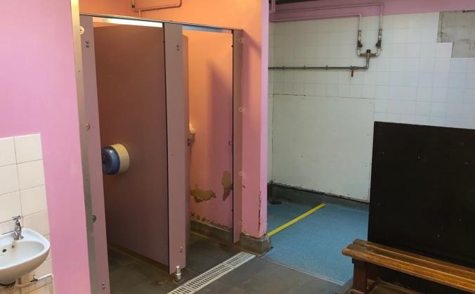 Changing Room Refurb @ Robert Barclay Academy Pool