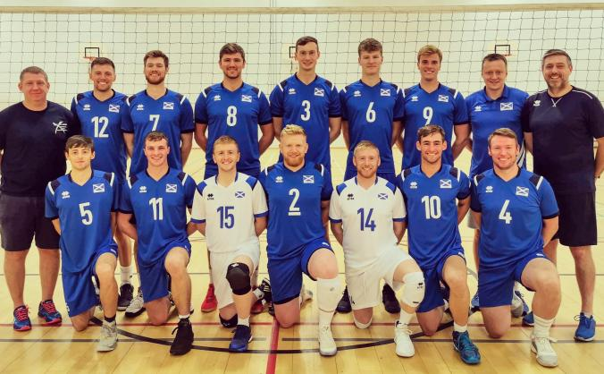 Support Scotland Men's National Volleyball Team