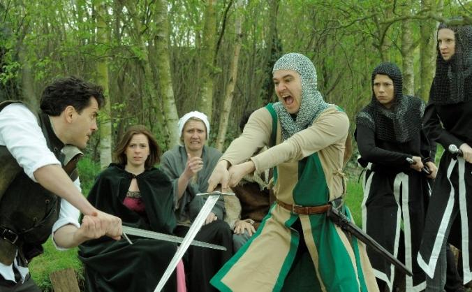 Robin Hood at WWT London Wetland Centre