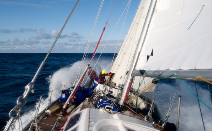 Help Rona II to cross the Atlantic!