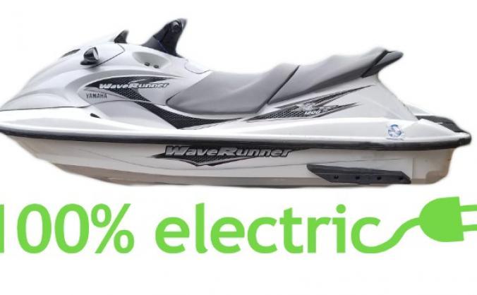 THE WORLD'S FASTEST ELECTRIC JETSKI PROJECT