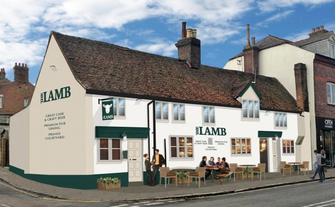 Support the renovation of The Lamb Berkhamsted