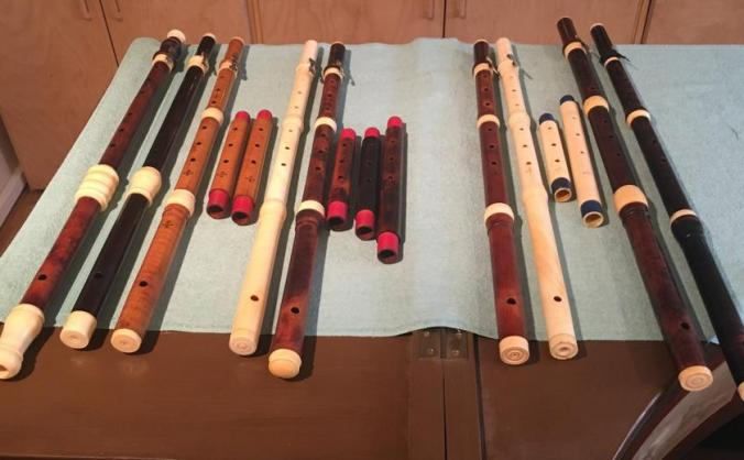 The Spohr Collection of original flutes