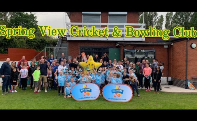 Introducing the community youth to cricket