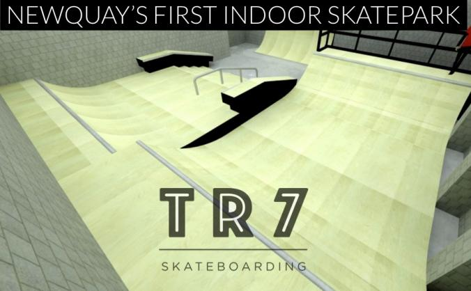 NEWQUAY'S FIRST INDOOR SKATEPARK