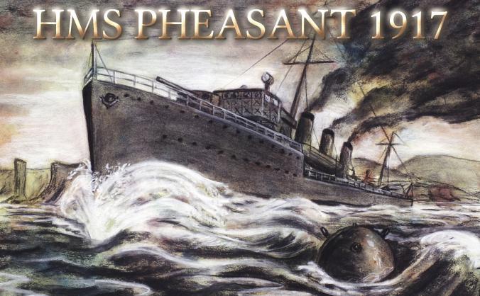 HMS Pheasant 1917