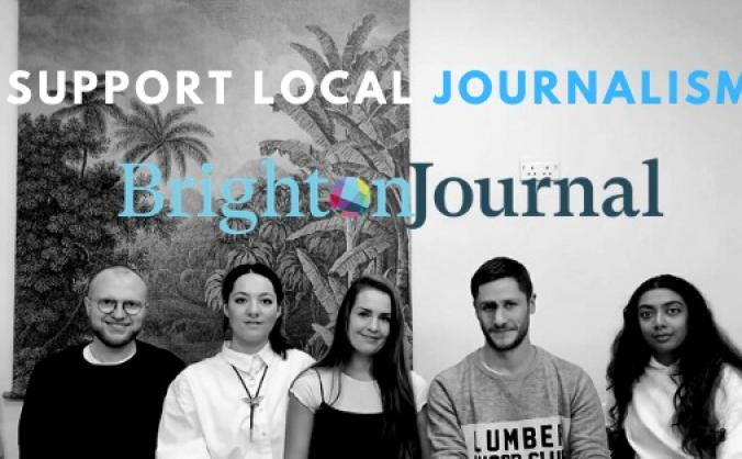 Brighton Journal won't give up on community news