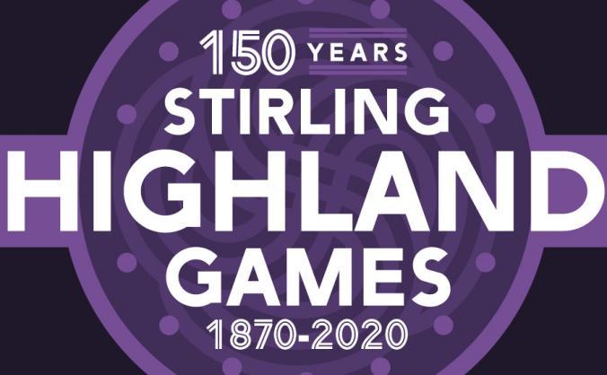 Stirling Highland Games 150