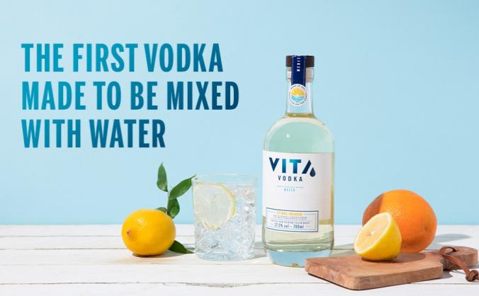 VITA Vodka - Forget Sugar, Just Add Water