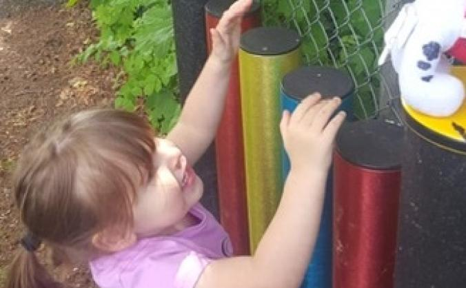 Outdoor Musical Equipment for Inclusive Play Area