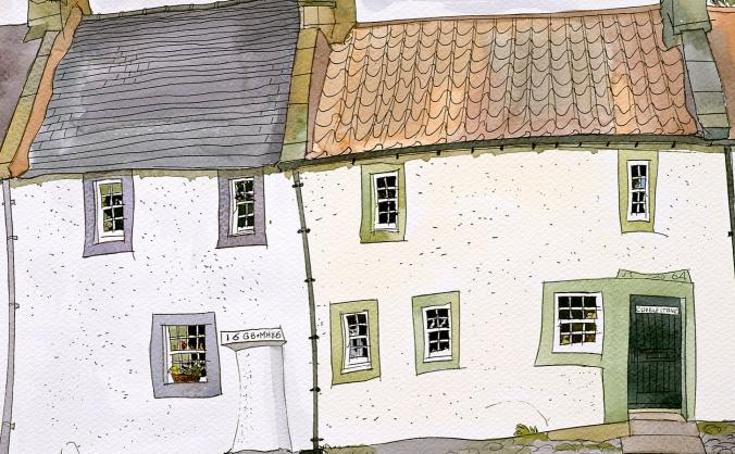 Falkland, a book of paintings by Peter Jones