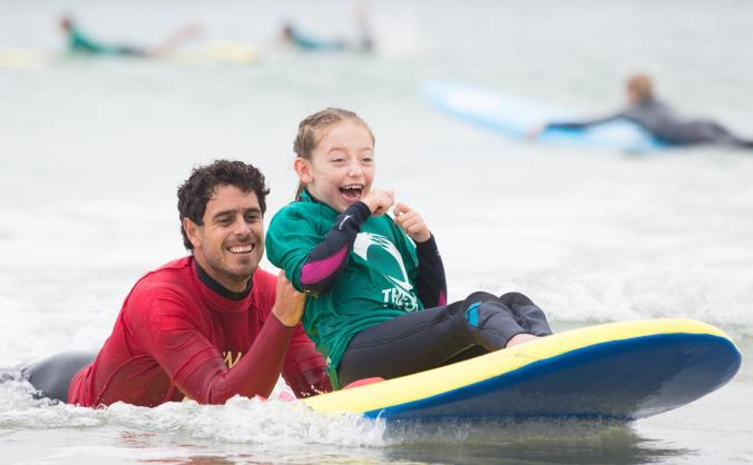 Surf Therapy -with 1:1 adult & peer mentor support