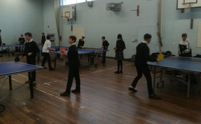 Table Tennis at Thornden School- 365 days a year!