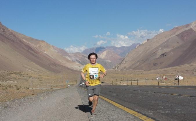Limited Edition Book:  Mountain Marathon Man
