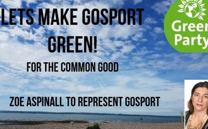 Gosport Green Party General Election Campaign