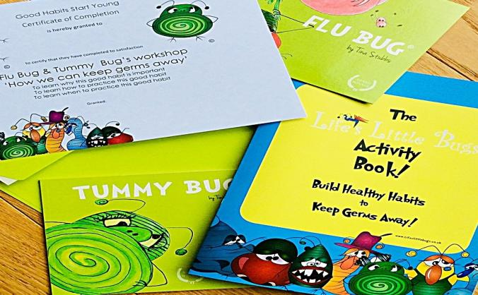 Life's Little Bugs Healthy Habits Activity Pack
