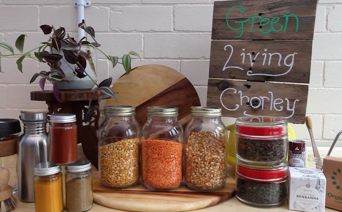 Green Living Chorley: Community Shop/Cafe/Hub