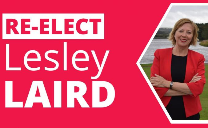 Re-elect Lesley Laird for Kirkcaldy & Cowdenbeath