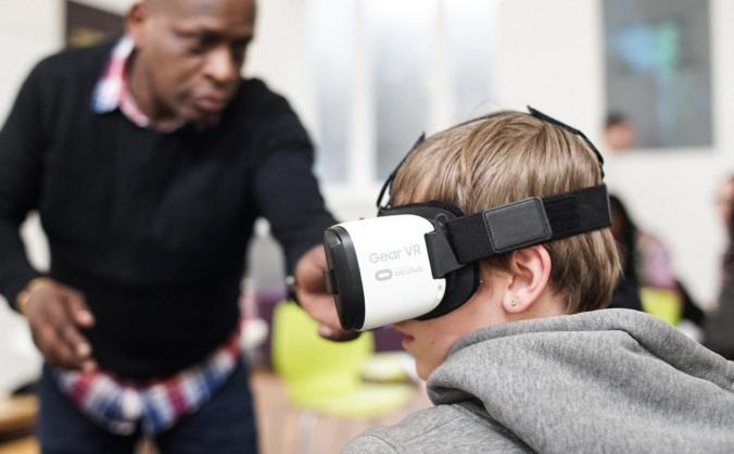 Coldharbour VR Project Tour of Lambeth Schools