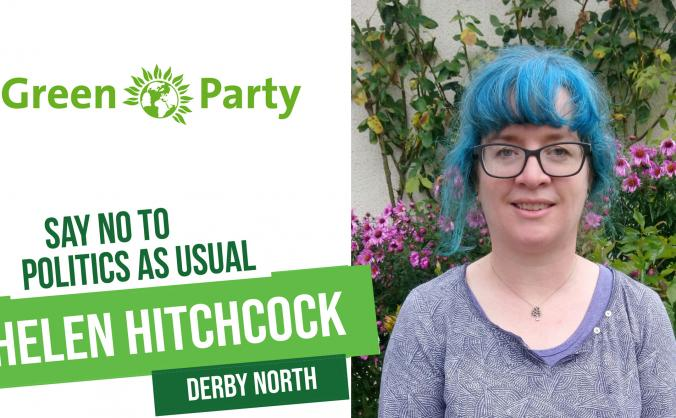 Green Party Candidate for Derby North