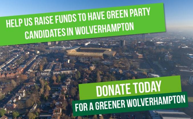 Wolverhampton Green Party Election Fundraiser