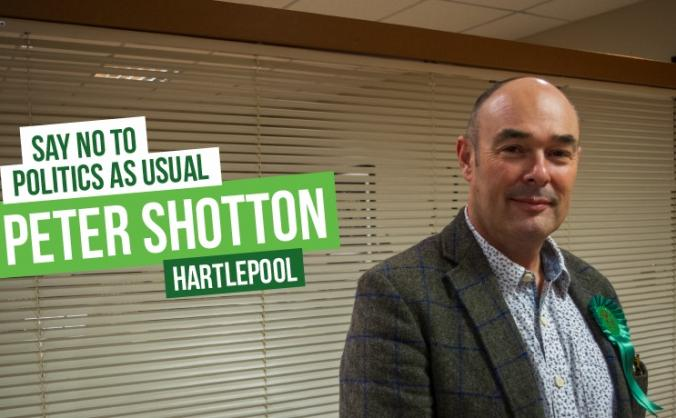 Elect Peter Shotton - Green MP for Hartlepool 2019